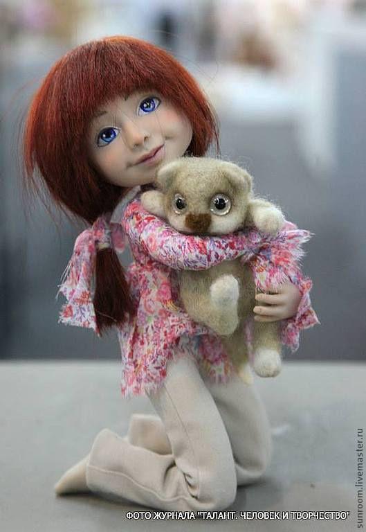 """Коллекционные куклы ручной работы. Ярмарка Мастеров - ручная работа. Купить """"Роднуля"""". Handmade. Розовый, подарок, нежно розовый"""