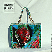 Сумки и аксессуары handmade. Livemaster - original item An exclusive designer bag beaded embroidered