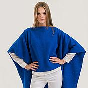Жилеты ручной работы. Ярмарка Мастеров - ручная работа Палантин-трансформер Cover Vest Blue: 10 в 1. Handmade.