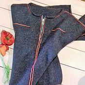 """Одежда ручной работы. Ярмарка Мастеров - ручная работа Джемпер вязаный """"Тулон"""". Handmade."""