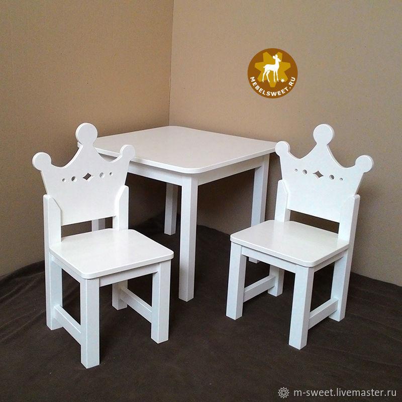 Набор Короны-драгоценности / белый, Мебель для детской, Москва,  Фото №1
