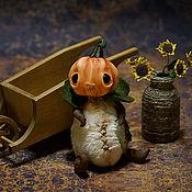 Куклы и игрушки ручной работы. Ярмарка Мастеров - ручная работа Пан Тыковка. Handmade.