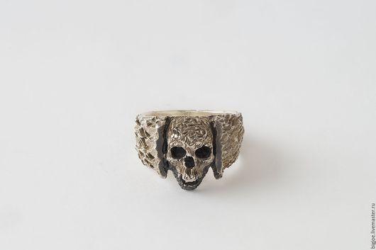 Кольца ручной работы. Заказать кольцо из серебра. Авторское кольцо. Необычное кольцо. BigJoe. Ярмарка Мастеров. черепа, серебро 925 пробы