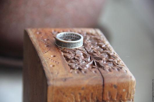 Vintage Via. Кольцо `Кованое`, серебро 925 пр. винтаж, ручная работа
