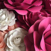 Цветы ручной работы. Ярмарка Мастеров - ручная работа Бумажные розы. Handmade.