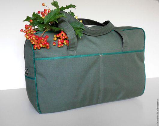 Спортивные сумки ручной работы. Ярмарка Мастеров - ручная работа. Купить Сумка для ручной клади, спортивная сумка, текстиль. Handmade.