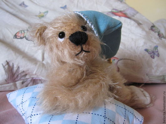 Мишки Тедди ручной работы. Ярмарка Мастеров - ручная работа. Купить Мишка Тедди. Handmade. Бежевый, авторская ручная работа