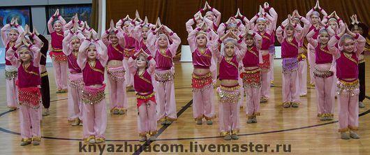 Танцевальные костюмы ручной работы. Ярмарка Мастеров - ручная работа. Купить Детский восточный танец. Handmade. Танцевальный костюм, азия