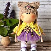 Куклы и игрушки ручной работы. Ярмарка Мастеров - ручная работа Текстильная куколка  Софи. Handmade.