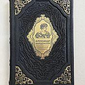 Сувениры и подарки handmade. Livemaster - original item Alexander The Great. Born to Win (Leather Book). Handmade.