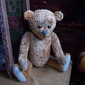 Куклы и игрушки ручной работы. Ярмарка Мастеров - ручная работа Мишка тедди, Печалькин, винтажный мишутка, ручная работа.. Handmade.