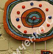 Для дома и интерьера ручной работы. Ярмарка Мастеров - ручная работа часы настенные, поднимающие настроение. Handmade.