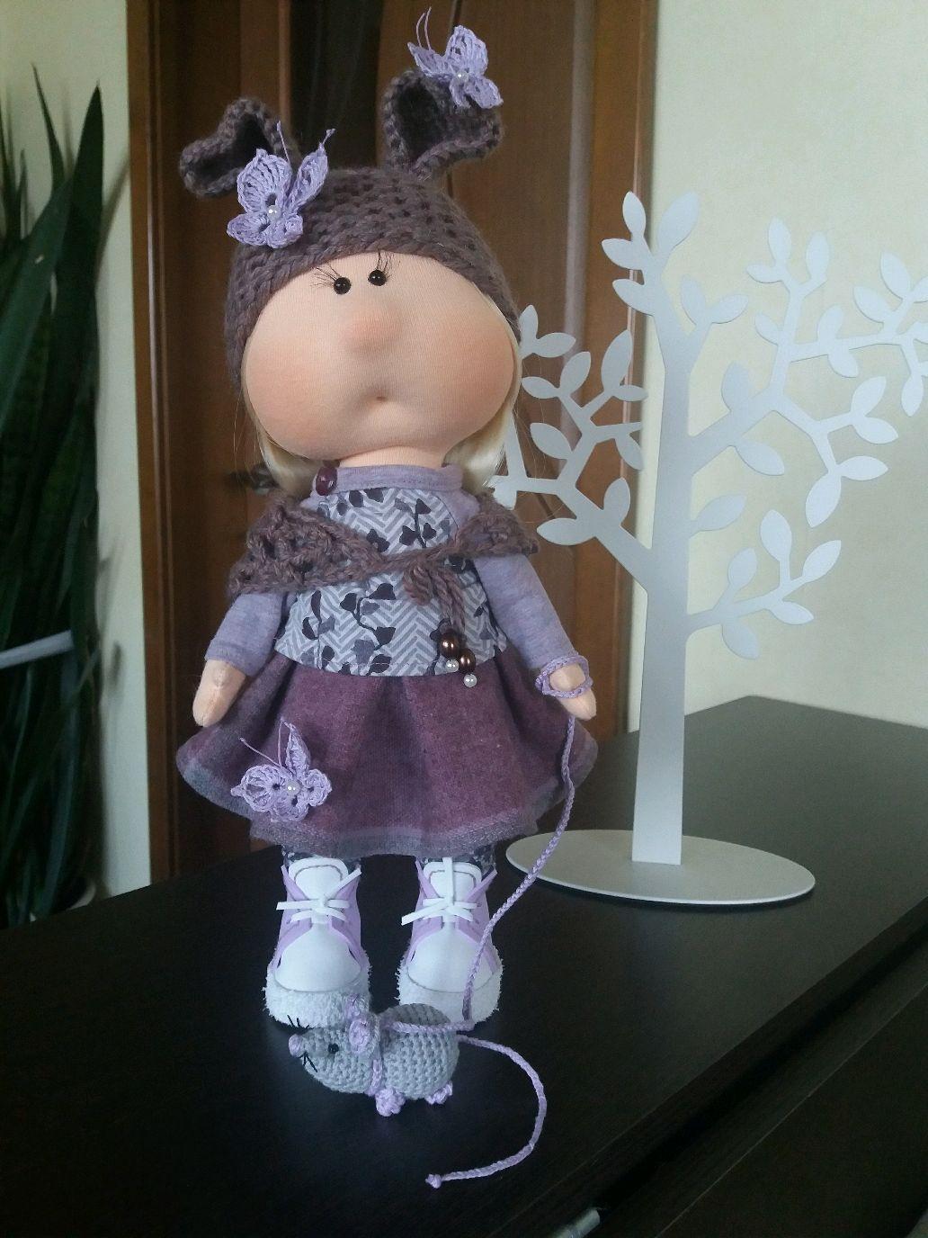 Кукла интерьерная, Тыквоголовка, Иркутск,  Фото №1
