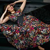 Платья ручной работы. Ярмарка Мастеров - ручная работа платье из кружева макраме valentino. Handmade.