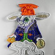 Для дома и интерьера ручной работы. Ярмарка Мастеров - ручная работа Белый кролик ( Алиса в стране чудес). Handmade.