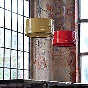 Для дома и интерьера handmade. Livemaster - original item Ceiling and pendant lights: Chandelier from the barrel in the loft. Handmade.