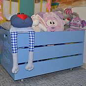 Для дома и интерьера handmade. Livemaster - original item Wooden toy box with engraving. Handmade.