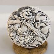 """Статуэтки ручной работы. Ярмарка Мастеров - ручная работа Мандзю """"Кидомару"""". Handmade."""