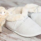 Обувь ручной работы. Ярмарка Мастеров - ручная работа Чуни ( домашние тапки из овчины). Handmade.
