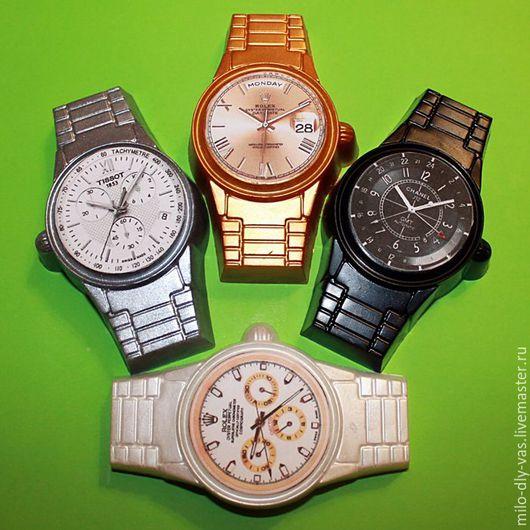 Мыло Часы, сувенирное мыло, мыло ручной работы, мыло часы мужские купить