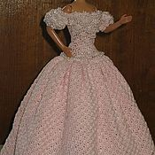 Куклы и игрушки ручной работы. Ярмарка Мастеров - ручная работа Платье. Handmade.