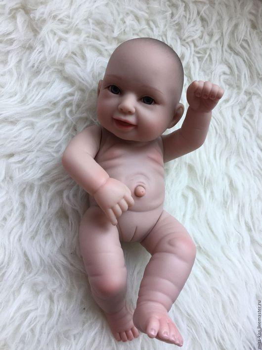 Куклы-младенцы и reborn ручной работы. Ярмарка Мастеров - ручная работа. Купить Малышка - младенчик, 30 см. Handmade. Кремовый
