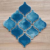 Для дома и интерьера ручной работы. Ярмарка Мастеров - ручная работа Керамическая плитка ручной работы Арабеска. Handmade.