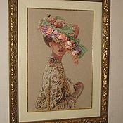 Картины и панно ручной работы. Ярмарка Мастеров - ручная работа Элегантная Виктория. Handmade.