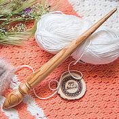 Материалы для творчества handmade. Livemaster - original item Spindle for spinning cherry Wood spindle #B19. Handmade.