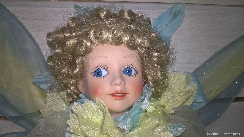 Фарфоровая кукла Василек, Портретная кукла, Москва,  Фото №1