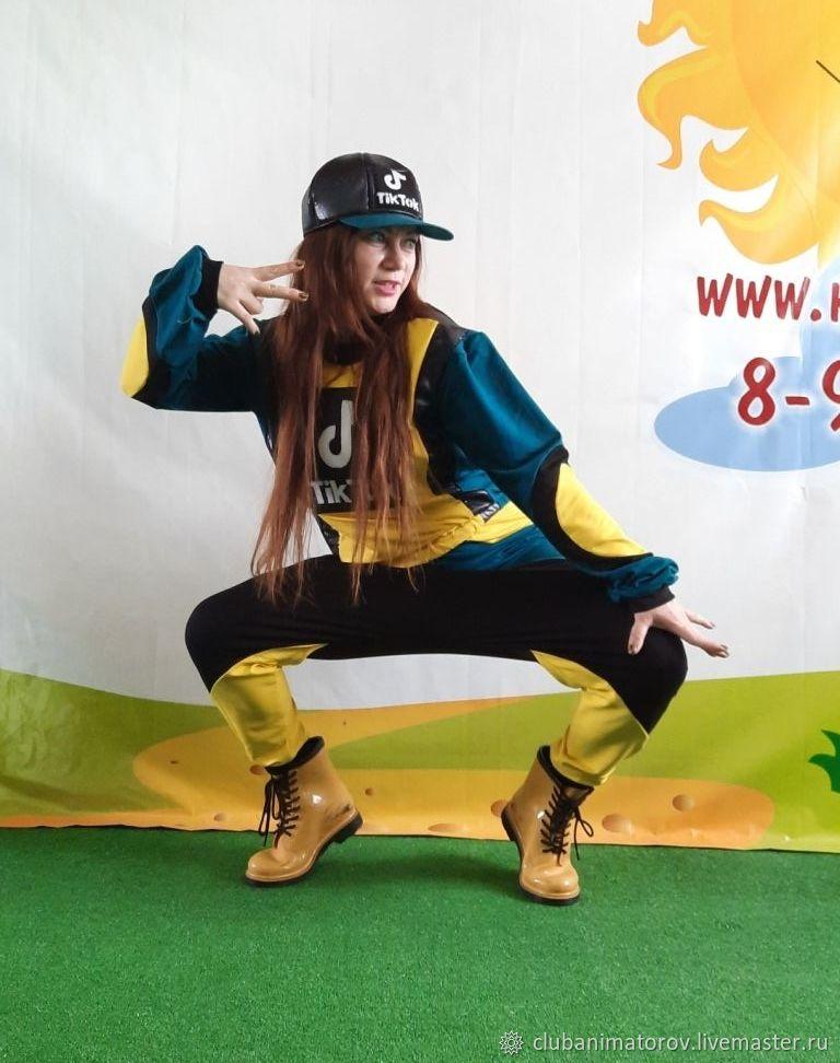 Tik-Tok costume male female Animation Club, Carnival costumes, Ufa,  Фото №1