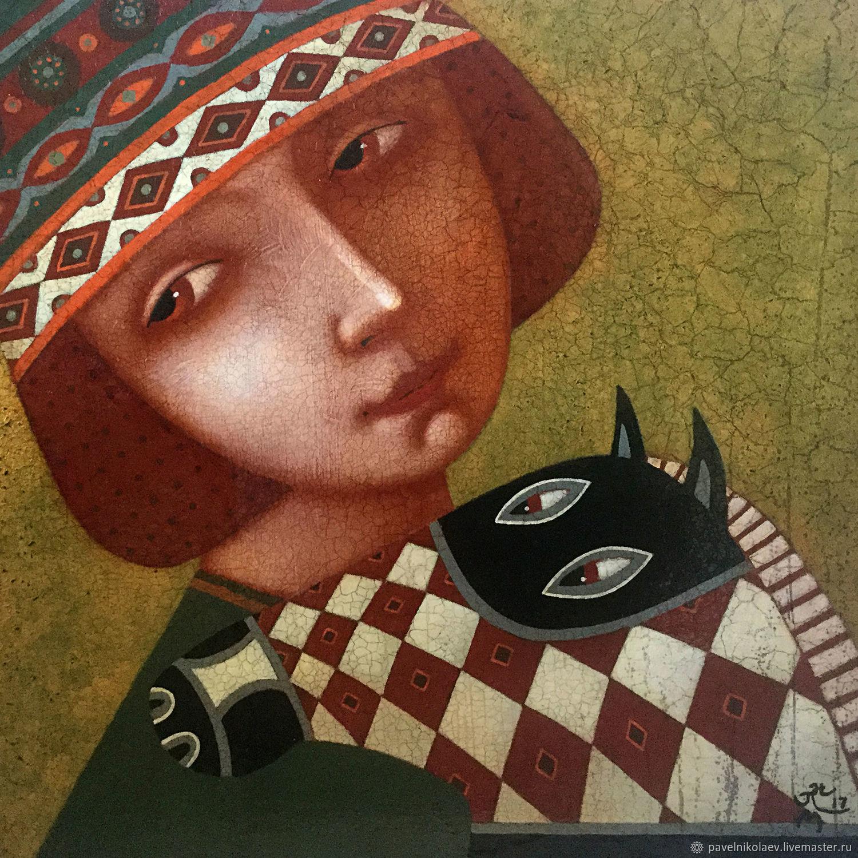 """""""Любимая лошадка"""", авторская печать, Картины, Новороссийск,  Фото №1"""