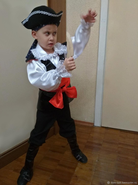 Детские карнавальные костюмы ручной работы. Ярмарка Мастеров - ручная  работа. Купить Костюм пирата корсара ... 2b6a52d92c655