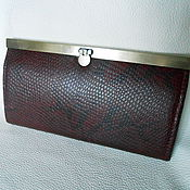 Сумки и аксессуары handmade. Livemaster - original item Women`s wallet genuine leather. Handmade.