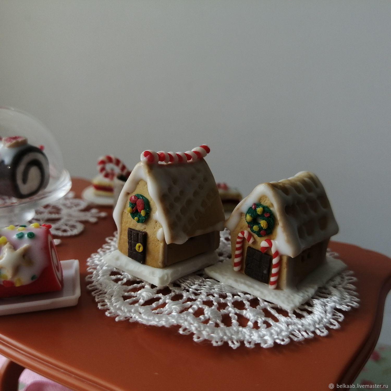 имбирные пряничные домики, Кукольная еда, Москва,  Фото №1