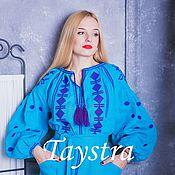 Одежда ручной работы. Ярмарка Мастеров - ручная работа Бохо платье женское, вышитое, бохо, этно стиль, Bohemia. Handmade.