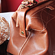Женские сумки ручной работы. Заказать Саквояж из натуральной кожи. Светлана Щеголева (Avokindorg). Ярмарка Мастеров. Саквояж кожаный, сумка