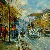 Картина маслом Осенний Париж