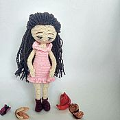 Куклы и пупсы ручной работы. Ярмарка Мастеров - ручная работа Интерьерная вязаная кукла. Handmade.