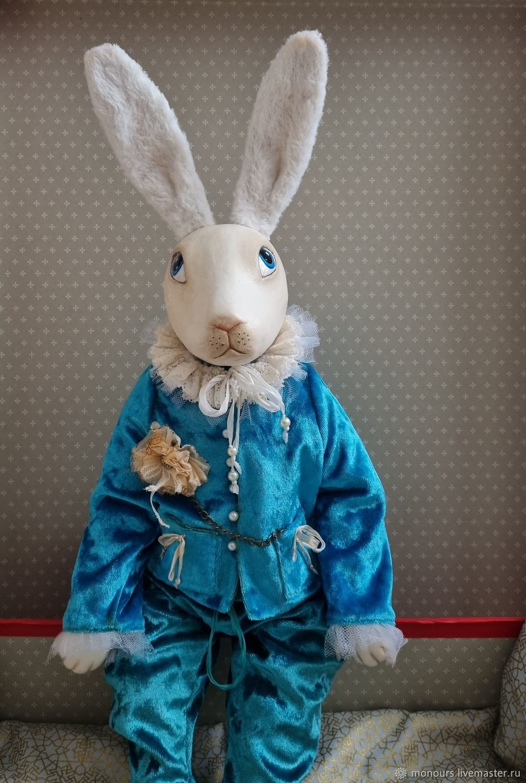 Кролик Эдвард XII, Интерьерная кукла, Москва,  Фото №1