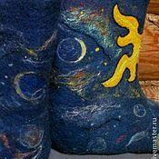 """Обувь ручной работы. Ярмарка Мастеров - ручная работа Валенки """"Созвездие Водолея"""". Handmade."""