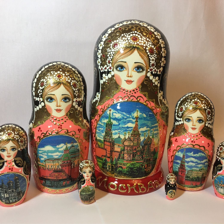 Матрёшка 7 мест( Москва), Матрешки, Тверь,  Фото №1