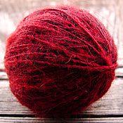 Материалы для творчества handmade. Livemaster - original item El hilado de la lana de los zorros