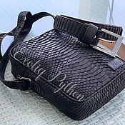 Сумки и аксессуары handmade. Livemaster - original item Handbag made of Python skin. Handmade.