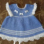 Работы для детей, ручной работы. Ярмарка Мастеров - ручная работа Летнее платье для девочки. Handmade.