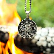 Украшения handmade. Livemaster - original item Pendant Gryphon from silver of 925. Handmade.