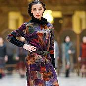 Одежда ручной работы. Ярмарка Мастеров - ручная работа авторское валяное платье. Handmade.