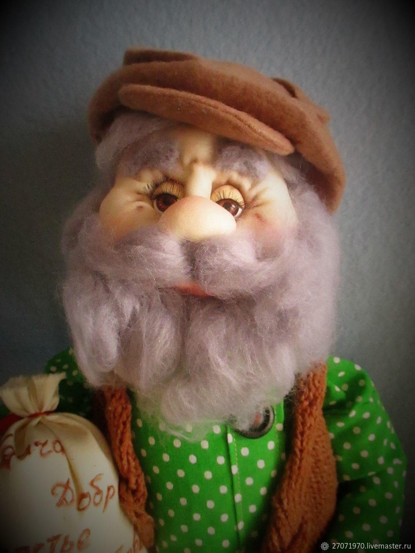 домовой Василий-интерьерная кукла оберег, Мягкие игрушки, Клинцы, Фото №1