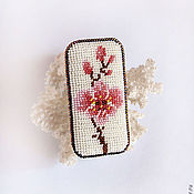 Украшения handmade. Livemaster - original item Beaded brooch