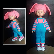 Одежда для кукол ручной работы. Ярмарка Мастеров - ручная работа Комплект одежды для куклы 32-34 см. Handmade.